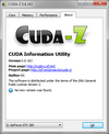 CUDA-Z in Windows